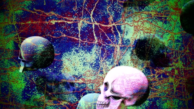 Abstract-Background-Halloween-Floating-Scary-Skulls-15