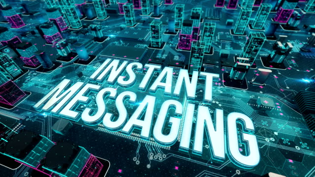 Instant-Messaging-with-digital-technology-concept