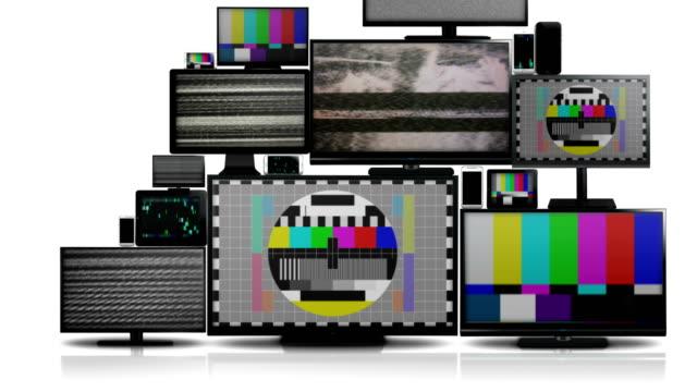 Muchos-tipos-diferentes-de-pantallas-con-ninguna-señal