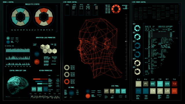 Futuristic-interface-|-HUD-|-Digital-screen