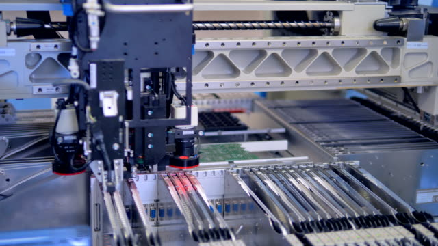 Automated-robotic-manufacturing-PCB-modern-equipment-4K-