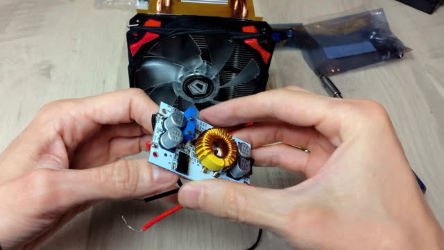 Repair-of-electronic-devices-tin-soldering-parts