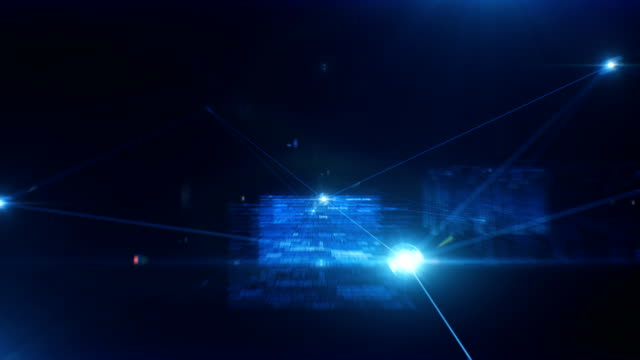 Beautiful-Flight-Trough-the-Abstract-Software-Code-and-Data-Connections-Looped-3d-Animation-with-Blue-Data-Flashes-and-Flares-Business-and-Technology-Concept-