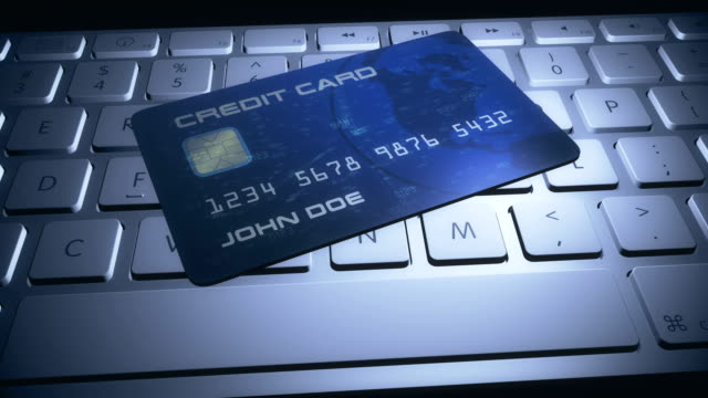 Credit-Card-On-Computer-Keyboard-for-Online-Shopping