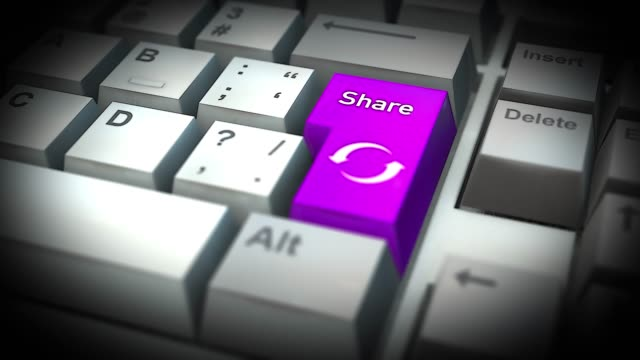 Share-Button-On-Computer-Keyboard
