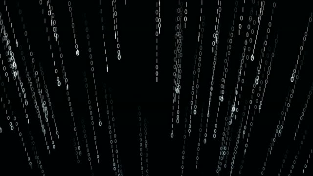 Strings-of-0-and-1-fall-from-top-to-bottom-in-data-matrix-created-in-cyberspace-