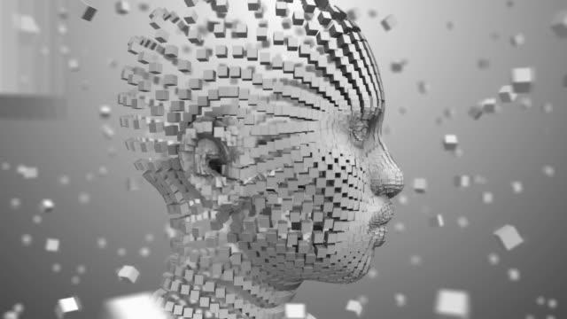 Roboter-künstliche-Intelligenz-KI-Tiefe-lernen-Computer-Programm-Technologie
