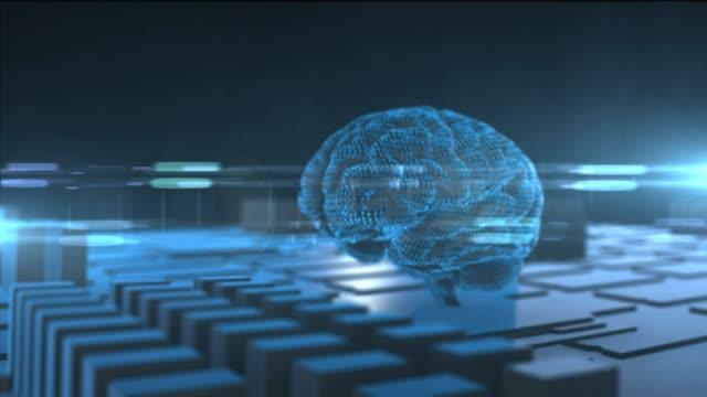 Simulation-brain-of-AI-Artificial-intelligence-deep-learning-computer-machine