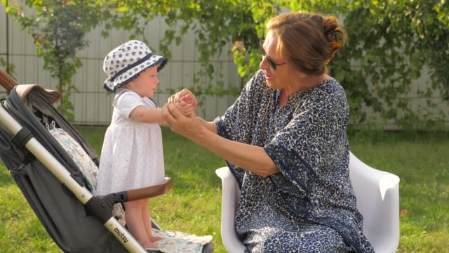 Grandmother-and-granddaughter-