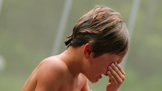 Tearful-young-boy-cries-for-having-been-hurt-Child-in-tears