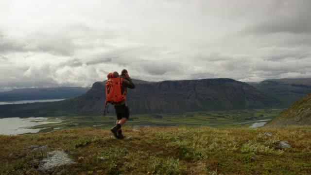 Excursionista-en-el-Rapadalen
