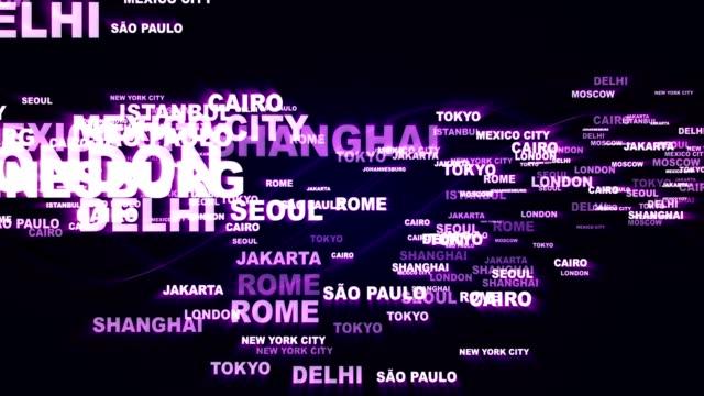 WORLD-CITIES-Keywords-Rendering-Animation-Background-Loop
