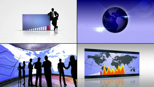 Business-Montage-Background
