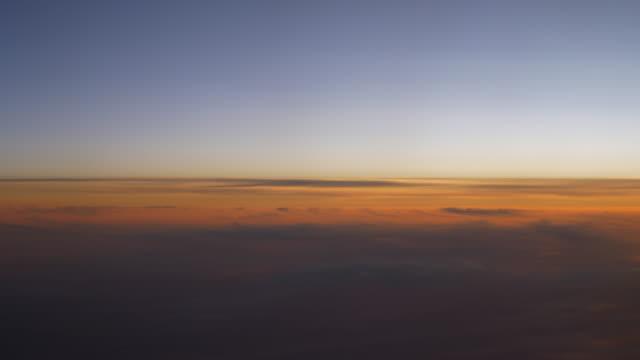 sunset-sky-airplane-window-view-4k-china
