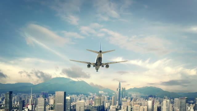 Airplane-Landing-Shenzhein-China