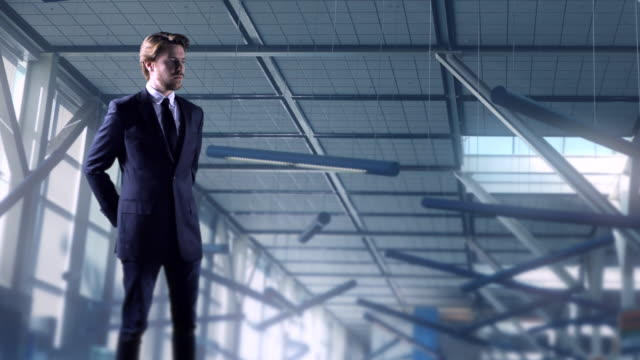 Young-Businessman-Suit-Airport-Travel-Air-Travel-Male-Model-Pose