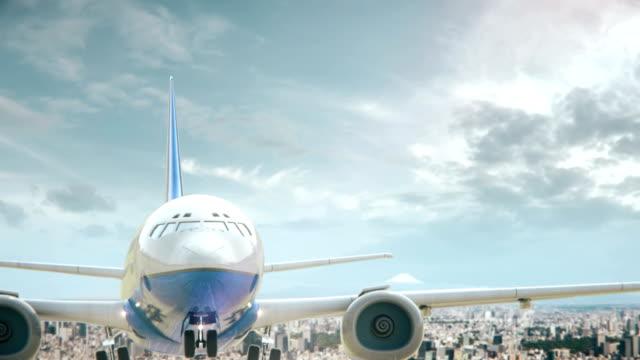 Airplane-Take-Off-Tokyo-Japan