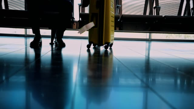 Close-up-of-businessman-with-luggage-waiting-to-board-on-airplane