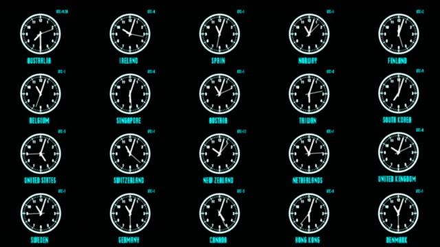 HUD-Futuristic-Element-Time-Zone-Concept-