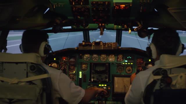 Pilotos-de-avión-del-aterrizaje