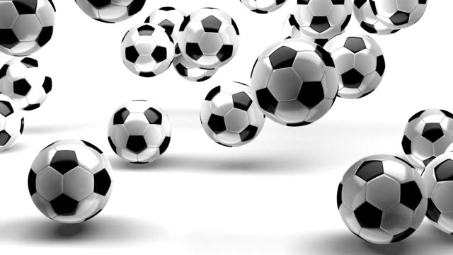 Salto-de-fútbol-pelotas-en-blanco-con-zoom-Alfa-30-fps-(alta-definición
