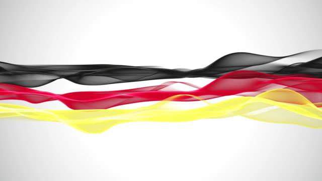 Wonderful-german-color-flag-animation-for-sport-events-loop-HD