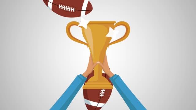 Animación-de-fútbol-americano-trofeo-HD