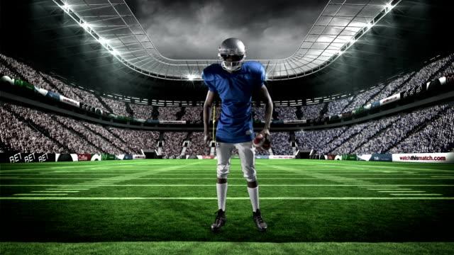 Jugador-de-fútbol-americano-de-retención-de-bola