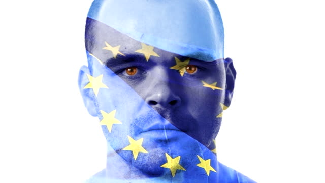 European-union-flag-and-a-face