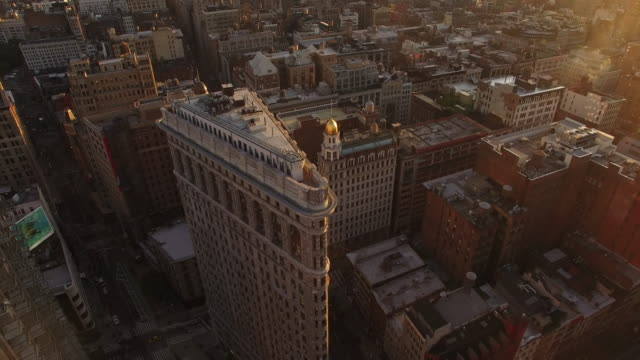 NYC-Flat-iron-Building-Aerial-Shot