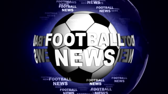 FOOTBALL-NEWS-and-Ball-Animation-Rendering-Background-Loop