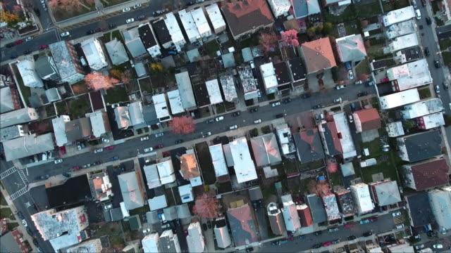 Cliffside-Park-NJ-arriba-tiro-de-casas-y-edificios