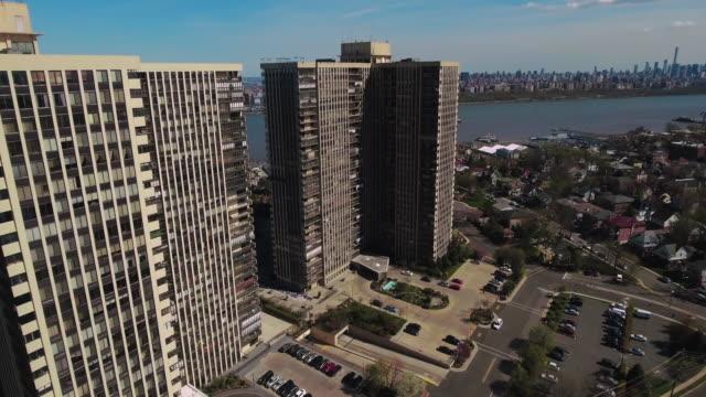 Cliffside-Park-NJ-ascensión-aérea-vista-complejo