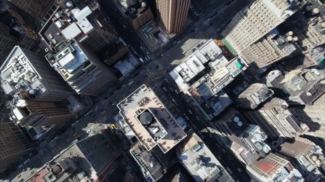 Aerial-Of-NYC-Slow-Pan-Up-Shot