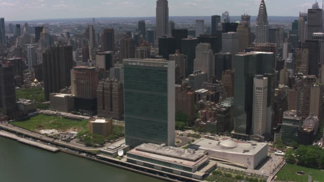Aerial-view-of-the-United-Nations-Building-