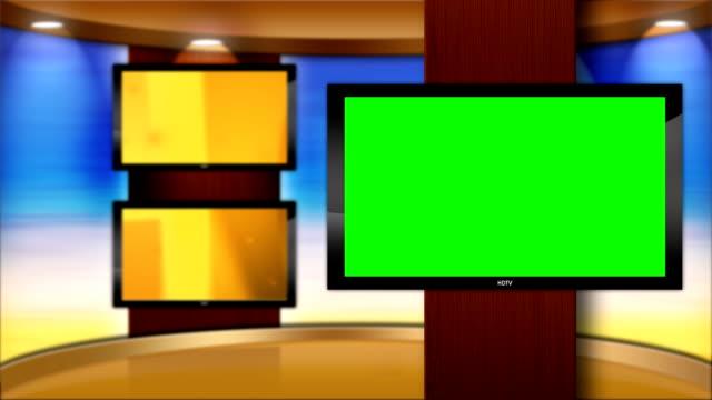 Virtual-TV-Studio-Set-de-alta-definición-con-control-principal