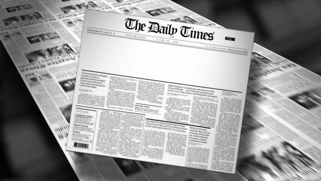Blank-Newspaper-Headline-(Reveal-and-Loop)-Animation