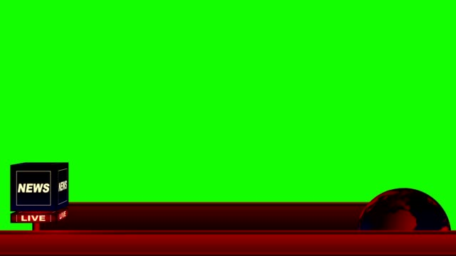 Live-News-Flash-Lower-Third-on-a-Green-Screen-Background