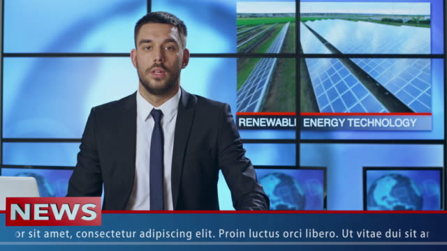 Male-News-Presenter-Speaking-About-Renewable-Energy