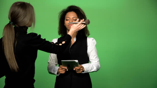 Black-female-during-giving-news