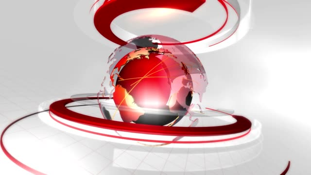 Globe-ring-background-loop-red-white