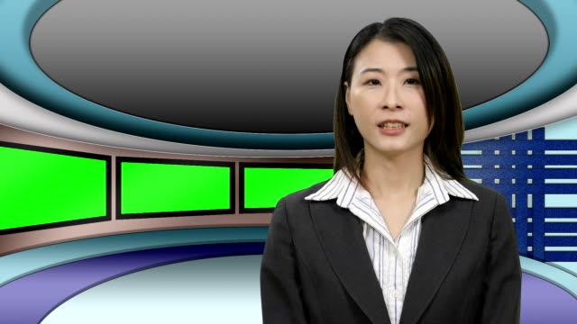 TV-News-presenter-in-Television-Studio