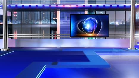 Virtual-studio-Newsroom