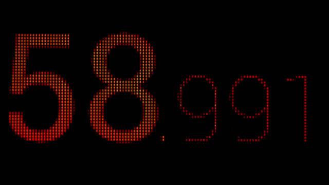 Digital-countdown-timer-