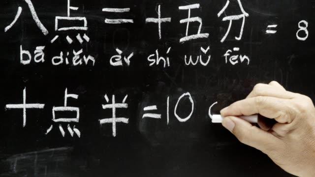 Aprender-chino-para-decir-la-hora-en-la-sala-de-clase-
