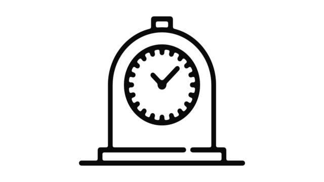 Reloj-línea-Motion-Graphic