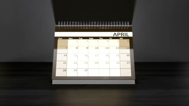 Gekennzeichnete-Tage-im-Monatskalender-auf-Jahr-Tischkalender-