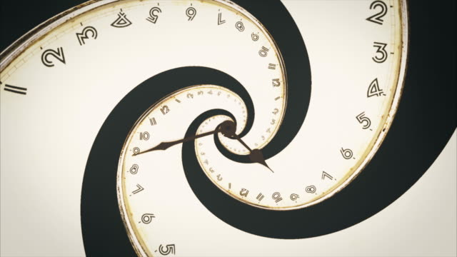 Rotating-spiral-of-clock-from-numbers-abstract-seamless-animation