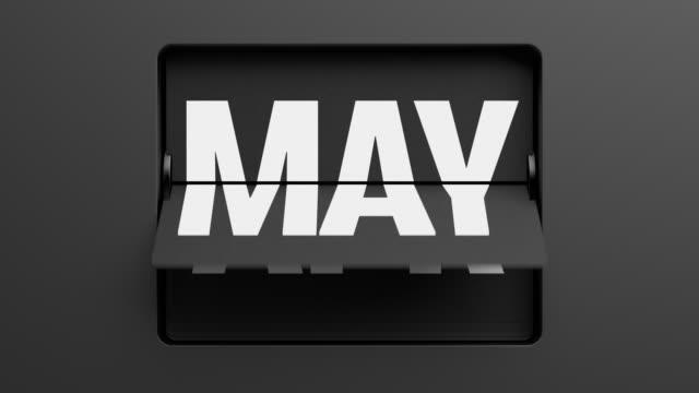 calendario-ojeando-rápidamente-en-los-meses-del-tirón
