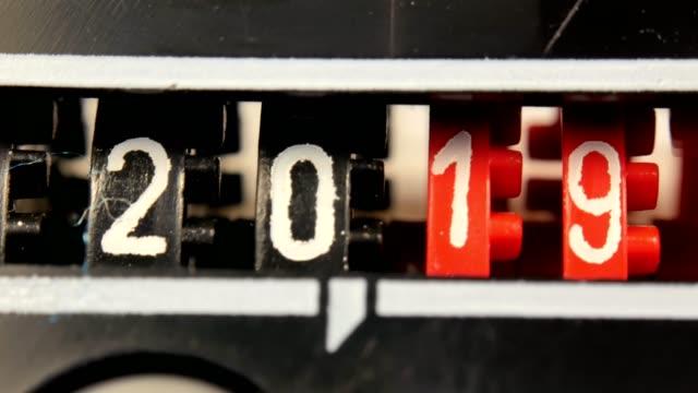2018-2024-Neujahr-Zählernummern-Satz-von-digitalen-Countdown-Timer-